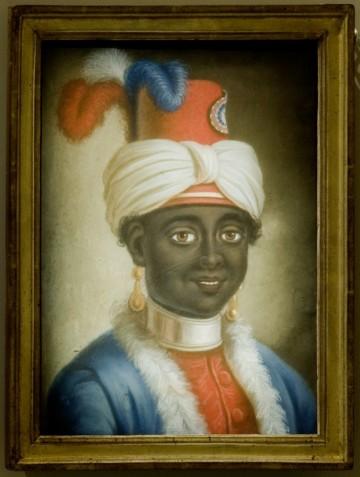 """© Musée d'histoire de Nantes """"Portrait d'un jeune esclave en habit républicain"""", attribué à Joseph II Brêche vers 1793"""
